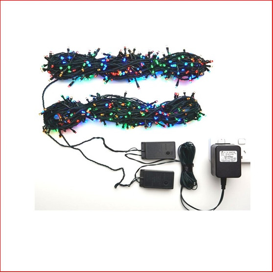 The 560 LED Lights Multi Colour, 2 x 14m string lights, are a great size to decorate a small christmas tree or other christmas display pieces like wreaths, garlands, wall trees, topiary balls. Decorating with christmas Led fairy lights is endless as the led lights can be used Indoor/Outdoor and you can create to your imagination. Led Lights can be used on your gutter, roof or your palm tree in the front yard. The beauty of the LED Lights is that they are energy efficient and very little power is used and you can enjoy a joyful Merry Christmas at low energy cost.