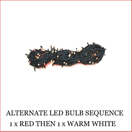 The 160 LED Lights Red and Warm White Colour christmas lights are a great size to decorate a small christmas tree or other christmas display pieces like wreaths, garlands, wall trees, topiary balls. The LED Lights are alternate, 1 x red led then 1 x warm white led. Decorating with christmas Led fairy lights is endless as the led lights can be used Indoor/Outdoor and you can create to your imagination. Led Lights can be used on your gutter, roof or your Jacaranda Tree in the front yard. The beauty of the LED Lights is that they are energy efficient and very little power is used and you can enjoy a joyful Merry Christmas at low energy cost. Led Lights are also used at bday parties and all special celebrating events.