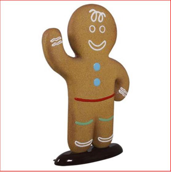 Polyresin Gingerbread Boy