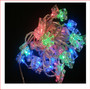 The Novelty Lights 32 LED Cube Lights Multicolour, great for a small table tree or for decorating a small product and space. Very popular with the kids for there bedroom wall. The Novelty Christmas Lights 32 LED Cube Lights Multicolour are a beautiful present shape display light.