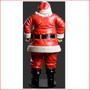 Polyresin Jolly Santa 6ft - Back View