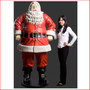 Polyresin Jolly Santa 6ft