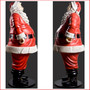 Side View Polyresin Jolly Santa 6ft is a beautifully imposing piece that will be the eye catching centre of you Christmas display. Expertly detailed in every way this Santa will draw the attention of all who come to see him.