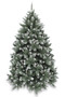 New Hampshire Pine Blue Frosted Christmas Tree 1.98m (6.5ft)