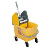 Rubbermaid Combo Bravo (25 L Bucket + Wringer) - Yellow