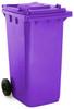 Purple Wheelie Bin - 240 Litre