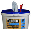 CP196 - HCI TUFFSAN by Vinco-SanWipe Scrubbing & Cleaning Wipe - 300 Wipes - Double-Sided Wipe Features One Textured Surface and One Smooth Surface
