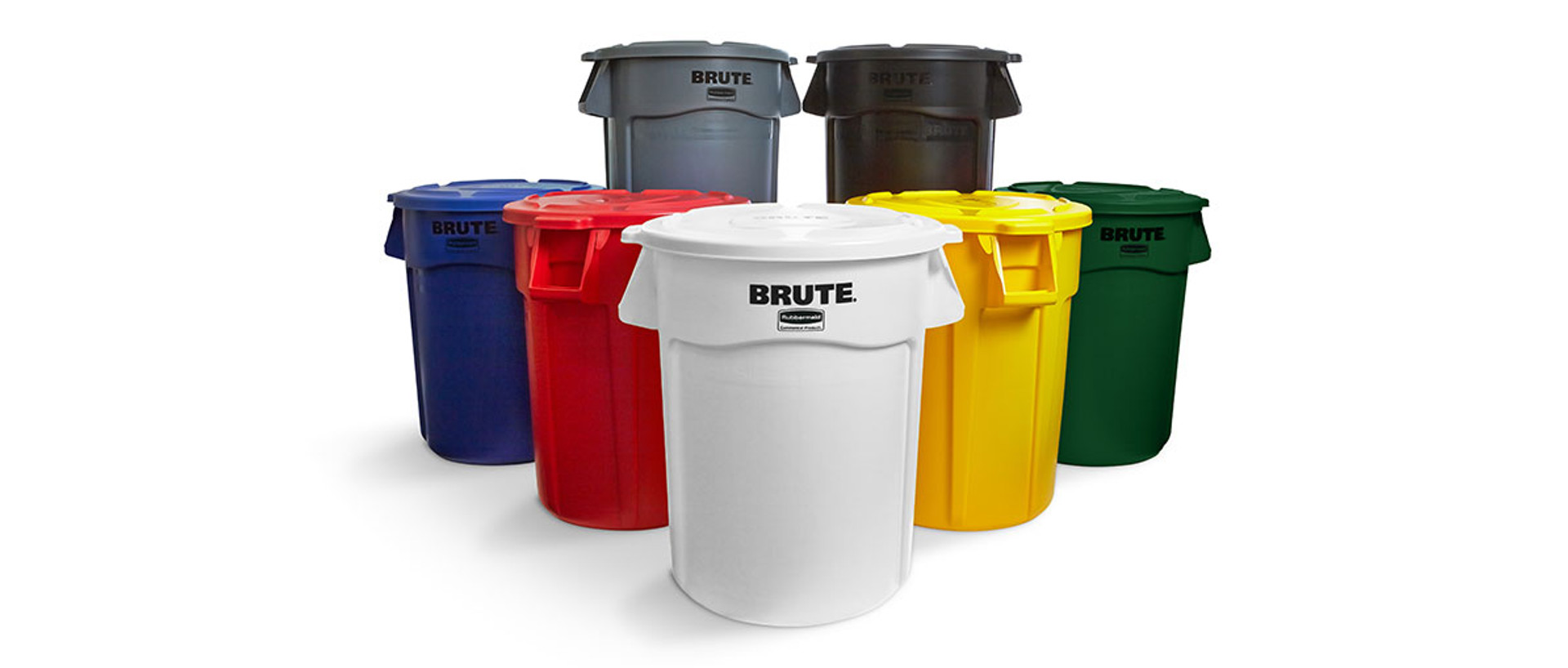 Rubbermaid Brute Container Bins