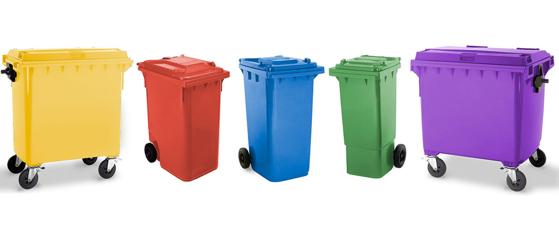 Wheelie Bin Colour Range
