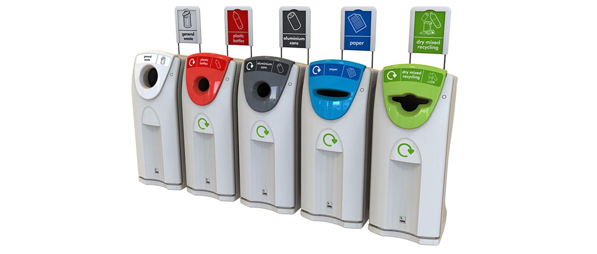 Leafield Recycling Bins