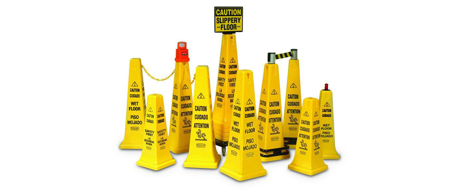 Wet Floor Safety Cone Range