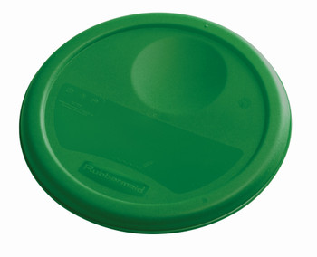 Rubbermaid Round Container Lid - Small Green