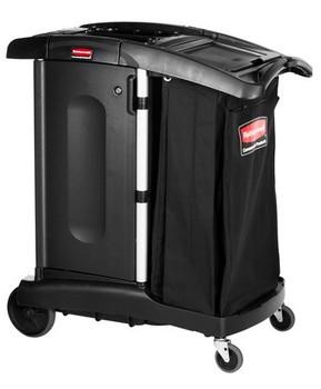 Rubbermaid Compact Turndown Housekeeping Cart