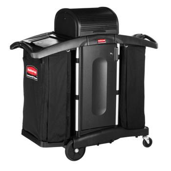 Rubbermaid High Security Housekeeping Cart