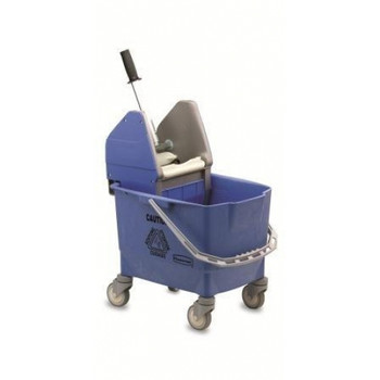 Rubbermaid Combo Bravo (25 L Bucket + Wringer) - Blue