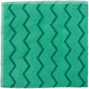 Rubbermaid Hygen Microfibre Cloth - Green