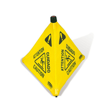 Rubbermaid Pop-Up Cone 50 cm - Multilingual Caution Symbol