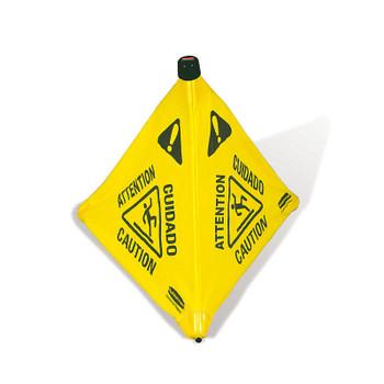 Rubbermaid Pop-Up Cone 50 cm - Multilingual Caution Symbol