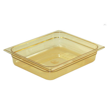 Rubbermaid Gastronorm Food Pan 1/2 65 mm - Amber