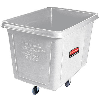 Rubbermaid Cube Truck 0.2 M³ - White - Rubbermaid FG460800WHT