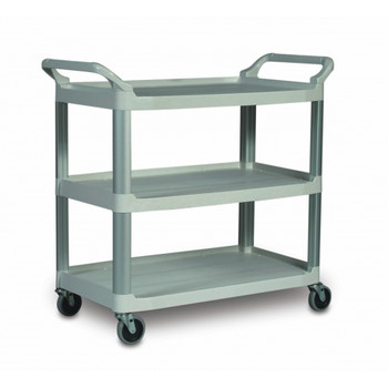Rubbermaid X-Tra Cart Open - Grey - Rubbermaid 1814568