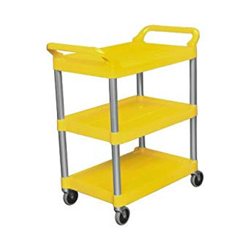 Rubbermaid Utility Cart - Yellow