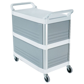 Rubbermaid X-Tra Cart Closed 3 Sides - White