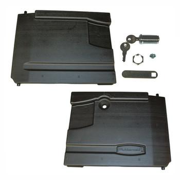 Rubbermaid Door Kit W/Locks 4094