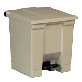 Rubbermaid Step-On Container 30L Beige
