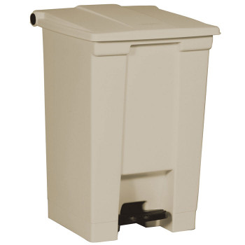 Rubbermaid Step-On Container 45L Beige