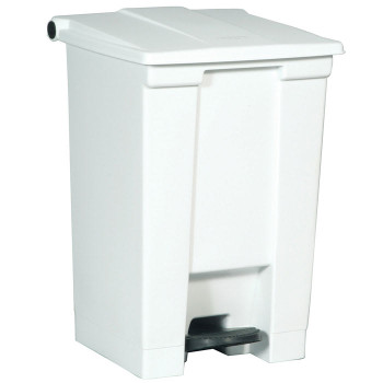 Rubbermaid Step-On Container 45L White