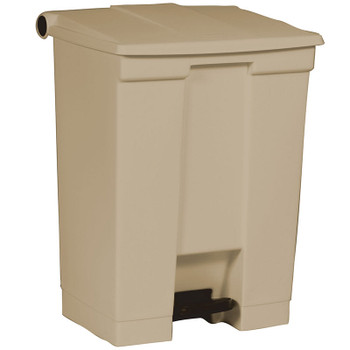 Rubbermaid Step-On Container 68L Beige