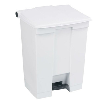 Rubbermaid Step-On Container 68L White