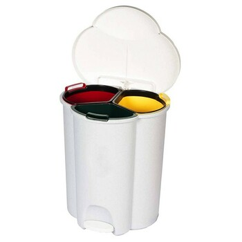 Rubbermaid Trio Pedal Bin