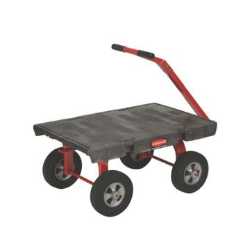 Rubbermaid 5Th Wheel Wagon (Pneumatic Wheels)