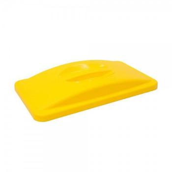 Rubbermaid Slim Jim Handle Top - Yellow