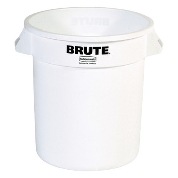 Rubbermaid Brute Container 37.9 L - White