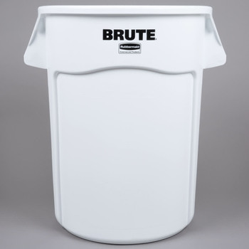 Rubbermaid 166.5L Brute Vented Container - White