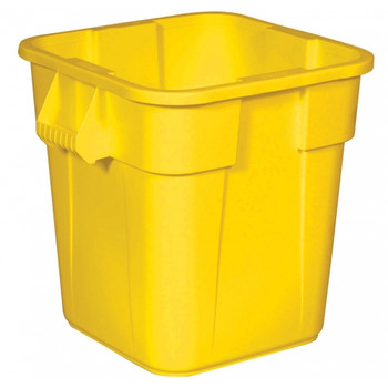 Rubbermaid Square Brute Container 106 L - Yellow