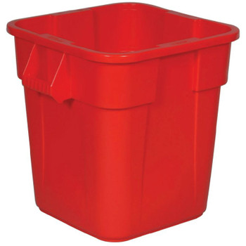 Rubbermaid Square Brute Container 106 L - Red