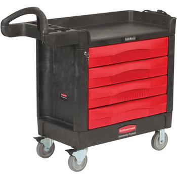 Rubbermaid Trademaster - 4 Drawer Cart
