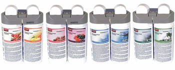 Rubbermaid Microburst Duet Mixed Pack (1 Of Each Fragrance Duo) - Rubbermaid 1910760