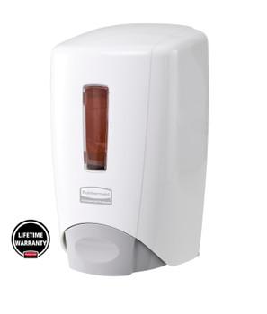 3486589 - Rubbermaid Flex Dispenser - 500ml - White - Comes with Lifetime Manufacturer's Warranty
