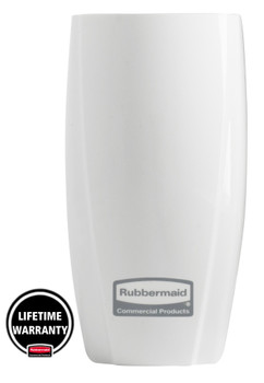 1817146 - Rubbermaid TCell 1.0 Dispenser - White - Lifetime Manufacturer's Warranty