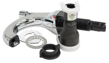 FG401544 - Rubbermaid OneShot Manual Dispenser - Chrome - Components