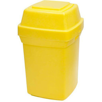 Rubbermaid Nap2 65L Capacity Nappy Bin - Yellow - 710X410X410mm