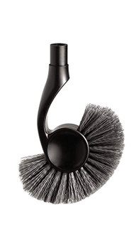 simplehuman Toilet Brush Replacement Head, Black - BT1095