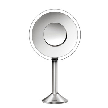 simplehuman Sensor Mirror Pro 20cm, Stainless Steel, Rechargeable