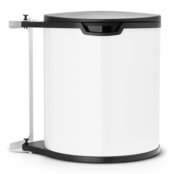 Brabantia Built-in Bin 15 litre Plastic Bucket - White