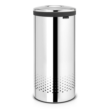 Brabantia Laundry Bin 35 litre - Brilliant Steel
